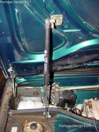 Ремонт газового упора багажника своими руками